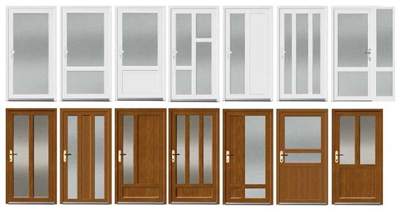 Dizaina iespējas durvīm.
