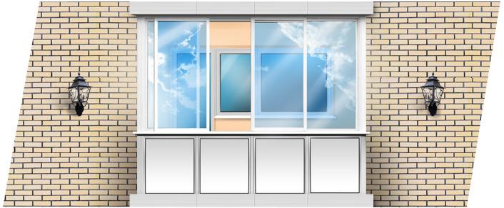 Остекление балконов и лоджий, остеклить балкон